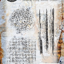 Pathways Cling Rubber Stamp Set