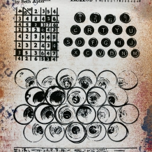 Eclectica³ 09 Cling Rubber Stamp Set